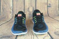 WMNS Nike Flex Run 2017 Mesh Running Shoes Black Blue Pink 898476-004 SZ New