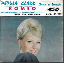 EP 4 TITRES--PETULA CLARK--ROMEO / CALENDAR GIRL