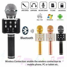 Bluetooth Karaoke Mikrofon Tragbares Drahtlos Handmikrofon für Erwachsene