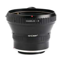 K&F Concept adapter for Hasselblad V mount lens to Sony E A72 A7R A9 camera