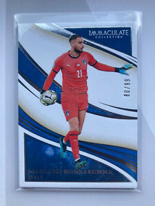 Gianluigi Donnarumma Italy Rookie Card Panini Immaculate Collection Soccer