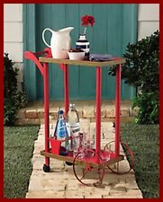 beverage cart  Wicker LIKE Beverage Cart NEW