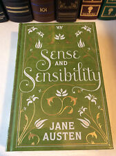 Sense and Sensibility by Jane Austen - leather-bound - ships in a box - NEW
