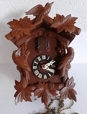 Vintage Black Forest small Cuckoo Clock needs TLC