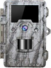 Trail Game Camera 16MP 1080p 30fps FHD IP67 Waterproof Wildlife Scouting Hunting