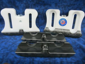 76153-736-000 Honda Snowblower skid/shoe premium set of 2 with extra wearbars
