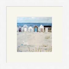 Hannah Cole Framed Print, Beach Combing, White, Light wood or Black Frame