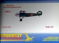 Choroszy Models 1/72 MITSUBISHI 2MRT1 NAVY TYPE 10 Reconnaissance Plane