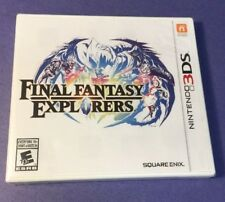 Final Fantasy Explorers (3DS) NEW