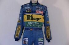 F1 Michael Schumacher 1995 printed Race suit,In All Sizes