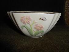 "Lenox Candy Nut Bowl Butterfly & Florals W/24Kt Gold Trim 2-1/4"" Final Sale"