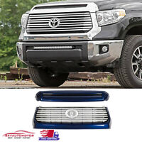TO1231102 Make Auto Parts Manufacturing New Direct Fit Smooth Black With Painted Black Molding Hood Scoop Plastic For Toyota Tundra 2014-2016