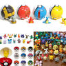 Wholesale Pokemon Pokeball Pop-up 7cm Cartoon Plastic BALL Pikachu Toy Kids cn