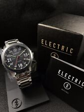 Electric California Mens FW01 SS Stainless Steel Watch NEW! $200