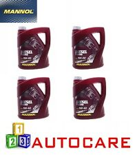 Mannol 4 x 5w40  Extreme Fully Synthetic Engine Oil 5 Litre API SN/CF = 20 Litre