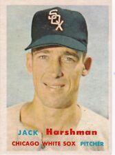 1957 Topps Baseball #152 Jack Harshman ~ Chicago White Sox ~ EXMT