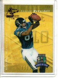 1997 PLAYOFF KEENAN McCARDELL FIRST & TEN (NM/MT) *