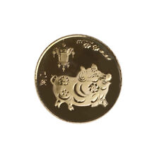 The year of the pig gold Chinese zodiac 2019 anniversary coins souvenir coinsCBB