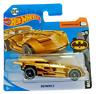 MATTEL Hot Wheels  BATMOBILE GOLD 3/5  Brand New Sealed