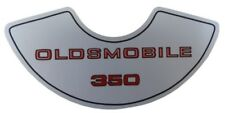 Oldsmobile 1975-80 350 4V Air Cleaner Decal, Olds