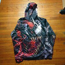 Venom Super Villain Marvel Movie 3D Print Hoodie Size US Small