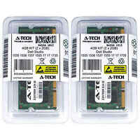 4GB KIT 2 x 2GB Dell Studio 1535 1536 1537 1555 17 17 1735 17 1737 Ram Memory