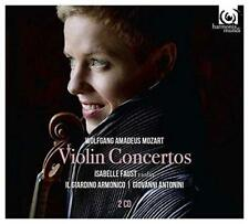 Faust And Giardino Armonico And Antonini - Mozart: Violin Concertos (NEW 2CD)