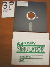 Floppy disc 5.25 inch 5 1/4 Commodore 64 simulator scritta giochi floppy n. 32