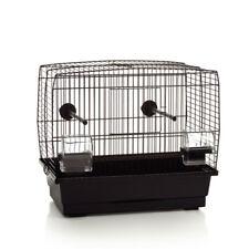 Vogelkäfig Vogelhaus Käfig Sittich Kanarien 'Natalia klein' 40x25x35 cm schwarz