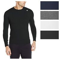 Champion Men's Double Dry Compression T-Shirt Long-Sleeve Athletic Baselayer Tee