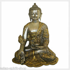 Darstellung Buddha Figur 1000köpfiger aus Messing filigran 1,7x3,5 cm