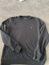 Allsaints Jersey Jumper Tamaño Grande Negro para Hombre