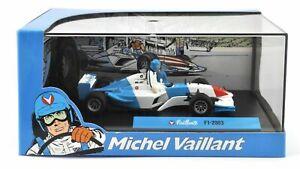 Michel Vaillant -Voiture de collection neuve-F1 2003-Métal injecté-En vitrine