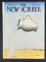 COVER ONLY ~ The New Yorker Magazine, August 25, 1975 ~ Saul Steinberg