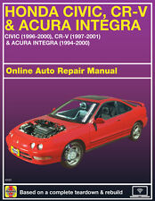 2000 Acura Integra Haynes Online Repair Manual-Select Access
