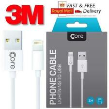 Boxed Apple iPhone 6 5 7 Plus iPad Lightning USB Data Charger Lead Cable Long 3m