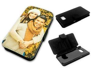 Flipcase Etui * eigenes Foto für Galaxy Serie * Handy Tasche Book Schutzhülle