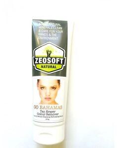 Zeosoft Natural Go Bahamas Tan Eraser spray tan