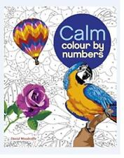 Colour by Number: Calm (Colouring Books) by Arcturus Publishing %7c Paperback Book