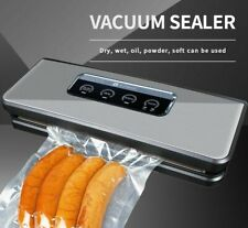Food Vacuum Sealer Packaging Machine Film Seal Packer Including 5Pcs Bags 150W
