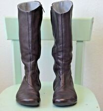 Tsubo Black Leather Fleece Lined Knee High Womens Size 6 Boots