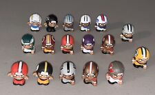 """Lot of 17 NFL 1"""" Teenymates Mini Figures Micro USA Teams Miniature *MINT*"""