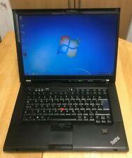 """Lenovo Thinkpad W500 - 15.4""""- C2D 2.67GHZ -4GB RAM - 160GB HDD Wind 7 HPre 64"""