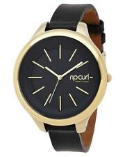 Rip Curl HORIZON LEATHER GOLD WATCH Womens Watch New - A2819G Gold