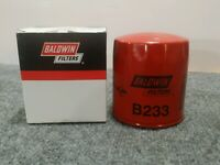 Baldwin Filters B233 Full-Flow Lube Spin-on Engine Oil Filter