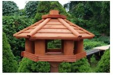 Vogelhaus Typ KO, XXXL-L,Vogelfutterhaus, Holzvilla,Futtertrog,Vogelstation Holz