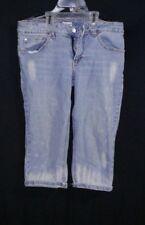 No Boundaries Cropped Skinny Fit Capris, Junior Sz 11 Embellished Pockets