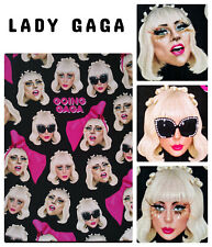 "🆕LADY GAGA Lined Notebook 8.5"" X 6"" Memorabilia Made In England Central 23"