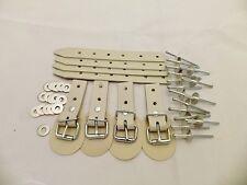 4x Schnallkappe und Strippe Reparaturset für Planenverschluss