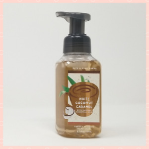 Bath And Body Works Gentle Foaming Hand Soap WHITE COCONUT CARAMEL - 2021 Scent